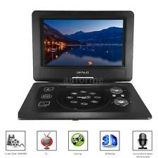 "10.1"" Inch TFT LCD Portable DVD CD Player MP3 TV AV SD USB Game 270° Swivel K0U5"