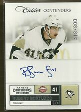 2011-12 Contenders Hockey Robert Bortuzzo Autographed Rookie Card #418/800