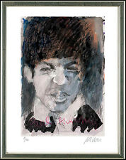 Armin Mueller-Stahl (geb. 1930), sign, Portrait Paul McCartney, 2012