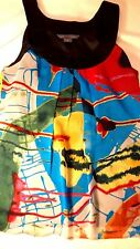A/X Armani Exchange - Bright Multi-Colored Dressy Sleeveless Top