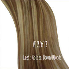 100% Real Silky Clip In Remy Human Hair Extensions Full Head US Celebration A232