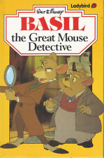 LADYBIRD BOOK - BASIL THE GREAT MOUSE DETECTIVE - 1987 - DISNEY - LOVELY Cond.