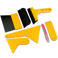 7PCS CAR WINDOW TINT TOOLS KIT FOR FILM SCRAPER APPLICATION INSTALLATION AC 56