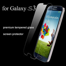 For Samsung Galaxy S3 .40mm Tempered Shatterproof Glass Screen Cover Protector