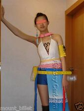 Halloween COMPLETE Gunner Yuna Costume Cosplay from Final Fantasy S Multi-Color