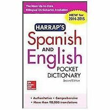 NEW Harrap's Spanish and English Pocket Dictionary by Harrap Paperback Book