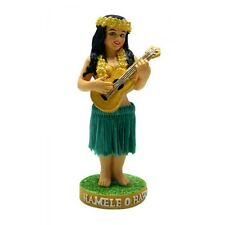 "New Hawaiian Hawaii Miniature Dashboard Hula Doll Girl w/ Ukulele  4"" # 40819"