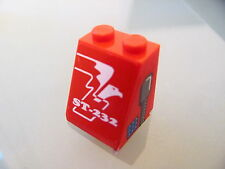 LEGO 3678apb10 @@ Slope 65 2 x 2 x 2 Smooth ST-232 & Eagle Pattern (Sticker 8232