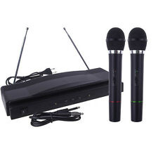 Professionelle Funkmikrofon System Dual-Handheld + 2 x Mic Cordless Empfänger