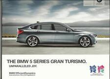 BMW 5 SERIES GRAN TURISMO 535i, 550i, 530d, 535d (INC.SE/M SPORT) BROCHURE 2012