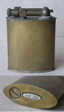 ANTIQUE FRENCH BRASS TABLE PETROL CIGARETTE LIGHTER / LIFT ARM / FUNCTIONAL