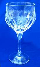 VINTAGE SIGNED PEILL & PUTZLER GERMAN CUT CRYSTAL GLASS DIANA WINE WATER GOBLET