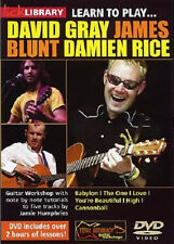 LEARN TO PLAY GRAY BLUNT AND RICE DVD LICK LIBRARY NEW!