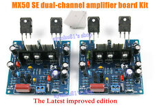 Improved MX50 SE 100W+100W Dual 2.0 Channel Audio Power Amplifier DIY Kits 1 Set