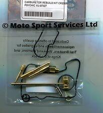 Carb Carburettor Rebuild Kit Honda CR 250 2001-2003 (Mikuni) Jets Needle Valve