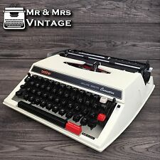 Excellent Brother 660TR White Typewriter Working red black ribbon Correction