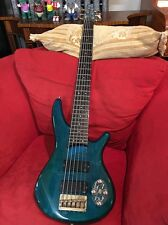 Ibanez SR506 Soundgear 6-String Bass Guitar SDGR green Gold hardware