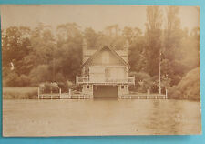 W.H.SERIES RP Postcard 1910 THAMES SCENERY READING BERKSHIRE