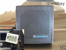 Motorola External Radio Speaker 6 Watt Amplified HSN1000 / 1006 Tested VHF UHF