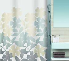Spirella Fleury Taupe Beige Duschvorhang 180 x 200 cm. Textil Markenware Schweiz