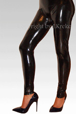 Latex Leggings Leggins Hose Rubber Trousers Pants XXS-XXL / W25-W38 (Inch)