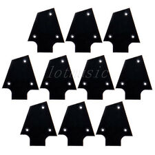 10pcs Black Plastic Electric Guitar Truss Rod Cover For Ibanez Custom