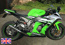 Kawasaki ZX10R 2016+ SP Engineering Carbon Stubby Big Bore Xtreme Decat Exhaust