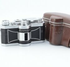 * Excellent ++ * Panon Widelux F6 35mm Panoramic Film Camera 26mm f2.8 w/ Case