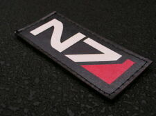 Patch velcro N7 - mass effect ALLIANCE INTERSTELLAIRE game GEEK airsoft RPG