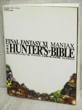 FINAL FANTASY XI 11 MANIAX Hunter's Bible Guide Book EB94*