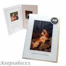 American Cocker Spaniel DOG pup GREETINGS CARD 3 fold & Blank from Otter House