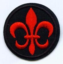 Aufnäher Patch PFADFINDER Lilie Scout Ranger rot S