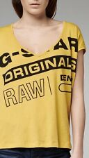Genuine Women's G Star Raw 1922 T-shirt Bnwt Original Sealed Packaging Size M