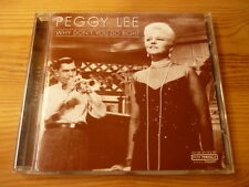 Peggy Lee Why Don't You Do Right [Past Perfect Silver LAne CD]