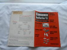 CONSUMER BULLETIN Magazine-MARCH,1967-REPORTS ON 1967 CARS-STEREO TAPE RECORDERS