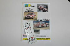 DECALS 1/43 CITROEN SAXO S1600 LLORACH RALLYCROSS 2000 WRC RALLY