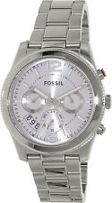 Fossil Women's Perfect Boyfriend ES3883 Silver Stainless-Steel Quartz Fashion Wa