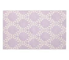 NEW 5X8 Persian Kid's Hand Tufted Evelyn Vine Rug - Lavender Carpet
