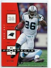 2006 Hot Prospects Red Hot #15 DeShaun Foster/50