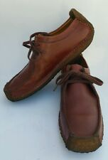 Clarks Original Wallabees Womens size US 8,UK 5.5 Leather  Brown Shoes 110913292
