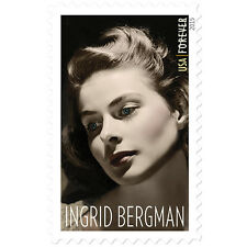 New USPS Ingrid Bergman Forever Stamp Sheet of 20