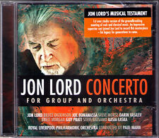Jon LORD Concerto For Group And Orchestra Darin Vasilev Steve Morse Deep Purple