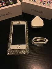 Apple iPhone 5s O2 16GB Champagne Gold Brand New Condition And Accessories