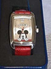 NIB BRAND NEW MICKEY MOUSE WATCH  DISNEY RED BAND