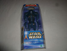 "NEW IN BOX STAR WARS ATTACK OF THE CLONES SUPER BATTLE DROID 12"" FIGURE HASBRO"