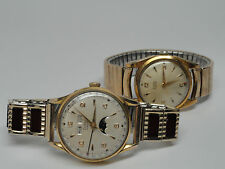Vintage Zodiac Moonphase Automatic Watch Triple Calendar