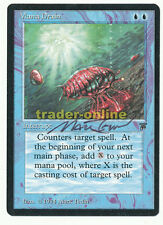 Mana Drain artist signed NM Magic english Legends original Scan 15L018