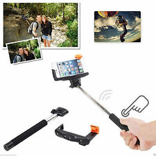 Bluetooth Wireless Regolabile Selfie Bastone Per Apple iPhone 4/5/6/7 Plus Android