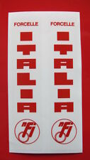 DUCATI TT2/F1/NCR/MV/BIMOTA/FORCELLE STICKERS/BLOCK