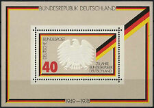 West Germany 1974 SG#MS1703 Federal Republic 25th Anniv MNH M/S #D322